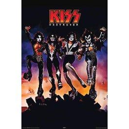 "Hal Leonard Kiss – Destroyer – Wall Poster -24"" x 36"""