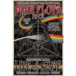 Hal Leonard Pink Floyd Dark Side Tour – Wall Poster