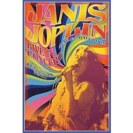 Hal Leonard Janis Joplin Concert – Wall Poster