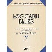 Hal Leonard Green-Log Cabin Blues-Brass Quintet with Xylophone Solo