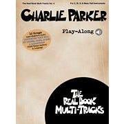Hal Leonard Charlie Parker Play-Along - Real Book Multi-Tracks Volume 4 -Audio Online