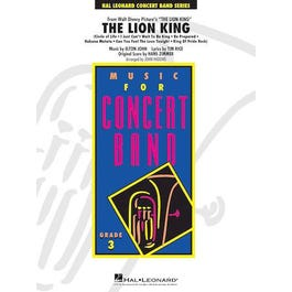 Hal Leonard The Lion King-Young Concert Band-Score & Parts