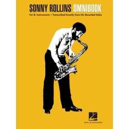 Hal Leonard Sonny Rollins Omnibookfor B-flat Instruments