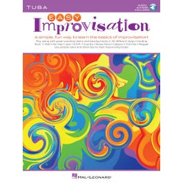 Hal Leonard Easy Improvisationfor Tuba-Book +Audio Online