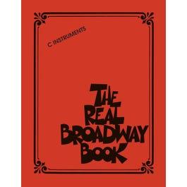 Hal Leonard The Real Broadway Book-  C Instruments