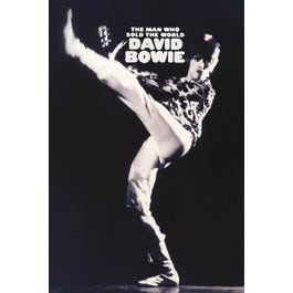 """Hal Leonard David Bowie – Man Who Sold the World – Wall Poster-24"""" x 36"""""""