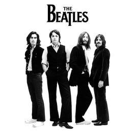 "Hal Leonard The Beatles – White Album Group Shot – Wall Poster 24"" x 36"""