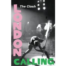 "Hal Leonard The Clash – London Calling – Wall Poster 24"" x 36"""