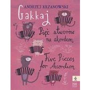 Hal Leonard Gakkaj: Five Pieces for Accordion