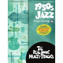 Hal Leonard 1950s Jazz Play-AlongReal Book Multi-Tracks Volume 12-Book + Audio Online