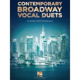 Hal Leonard Contemporary Broadway Vocal Duets