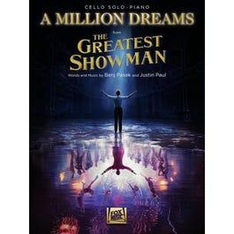 Hal Leonard A Million Dreams (from The Greatest Showman)-Cello/Piano
