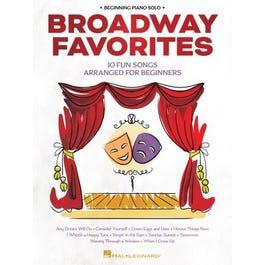 Hal Leonard Broadway Favorites for Beginning Piano Solo