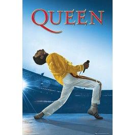 "Hal Leonard Queen: Freddie Live at Wembley Stadium – Wall Poster-24"" x 36"""
