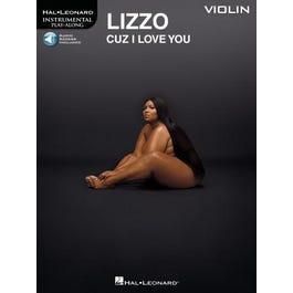 Hal Leonard Lizzo – Cuz I Love You Instrumental Play-Along for Violin-Book + Audio Online