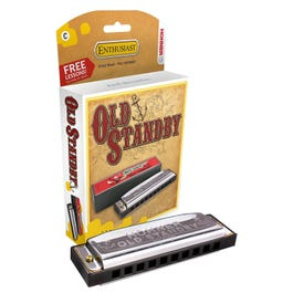 Image for 34B 20 Old Standby Diatonic Harmonica from SamAsh