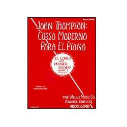 Image for John Thompson's Modern Course for the Piano - First Grade (Spanish) from SamAsh