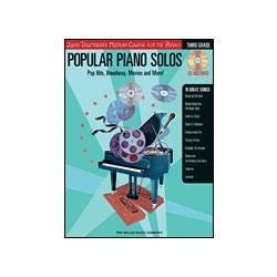 Image for Popular Piano Solos Pop Hits Broadway Movies and More (Book and CD) from SamAsh