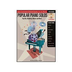 Image for Popular Piano Solos Pop Hits Broadway Movies and More 5th Grade (Book and CD) from SamAsh