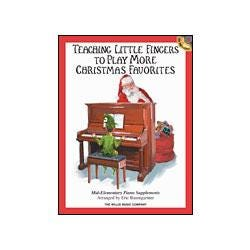 Image for Teaching Little Fingers to Play More Christmas Carols (Book and CD) from SamAsh