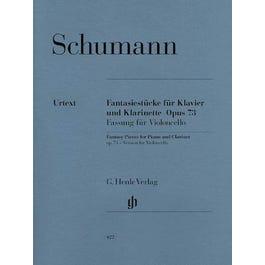 Hal Leonard Fantasy Pieces for Piano and Clarinet Op. 73-Piano Book