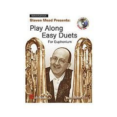 Image for Play Along Easy Duets For Euphonium (EUPHONIUM)-Jean-Baptise Arban (Book and CD) from SamAsh