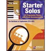 Hal Leonard Starter Solos for Baritone Horn (Bass and Treble Clef