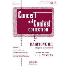 Hal Leonard Concert and Contest Collection for Baritone B.C. - Book/Audio