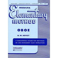 Image for Elementary Method for Oboe from SamAsh