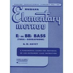 Image for Rubank Elementary Method for Eb and BBb Bass from SamAsh
