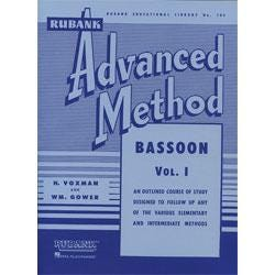 Image for Advanced Method Bassoon Vol 1 Advanced Method from SamAsh