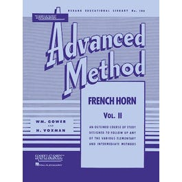 Image for Rubank Advanced Method – French Horn in F or E-flat