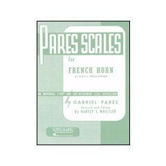 Image for Pares Scales for French Horn