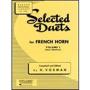 Hal Leonard Selected Duets for French Horn Volume 1 Easy to Medium