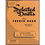 Hal Leonard Selected Duets French Horn Volume 2 Advanced