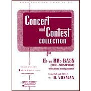 Hal Leonard Voxman Concert and Contest Collections (Instrumental / Vocal)-Eb or BBb Bass (Tuba) - Solo Part
