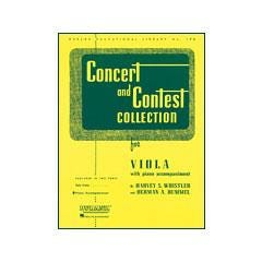 Image for Voxman Concert and Contest Collection for Viola from SamAsh