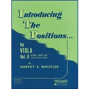 Hal Leonard Whistler-Introducing The Positions for Viola Vol 2 (2nd 4th and 5th Positions)