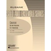 Hal Leonard VanderCook-Colossus - Air and Variations-Tuba Solo in C (B.C.) with Piano - Grade 3