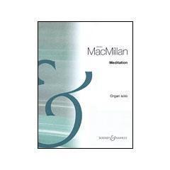 Image for James MacMillan - Meditation (Organ) from SamAsh