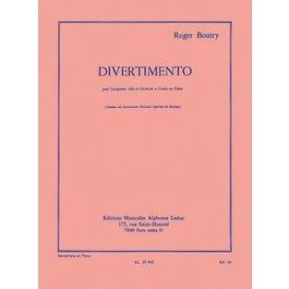Hal Leonard Divertimento (alto Saxophone/piano)