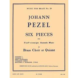 Hal Leonard Closer Look  6 Pieces (quintet-brass)