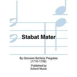 Hal Leonard Pergolesi -Stabat Mater Cello/Bass Part