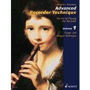 Hal Leonard Advanced Recorder Technique Vol.1-Art of Playing the Recorder
