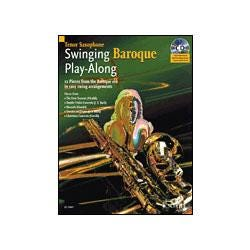 Image for Swinging Baroque Play Along for Tenor Saxophone (Book and CD) from SamAsh