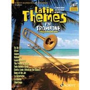 Image for Latin Themes for Trombone (Book and CD) from SamAsh