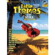 Image for Latin Themes for Viola (Book and CD) from SamAsh