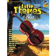 Image for Latin Themes for Cello (Book and CD) from SamAsh