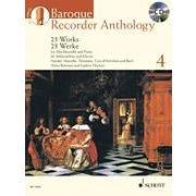 Hal Leonard Baroque Recorder Anthology, Vol. 4-Book + CD