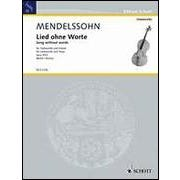 Hal Leonard Song Without Words, Op. 30, No. 3  Violoncello and Piano